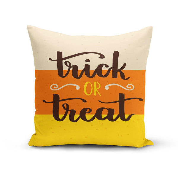 USA Made Dropship Pillow 12x16 / Multicolored Trick or Treat Candy Corn Pillow Cover PC0347-12X-MUL
