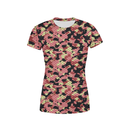 USA Made Dropship t-shirt XXS / Multicolored Women's Pink Stone Camo T-Shirt WS1BUMC111