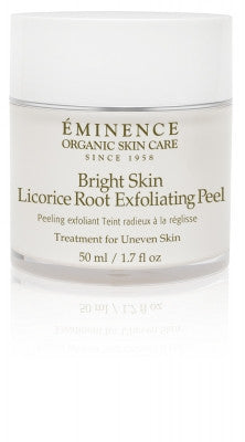 Eminence Bright Skin Licorice Exfoliating Peel