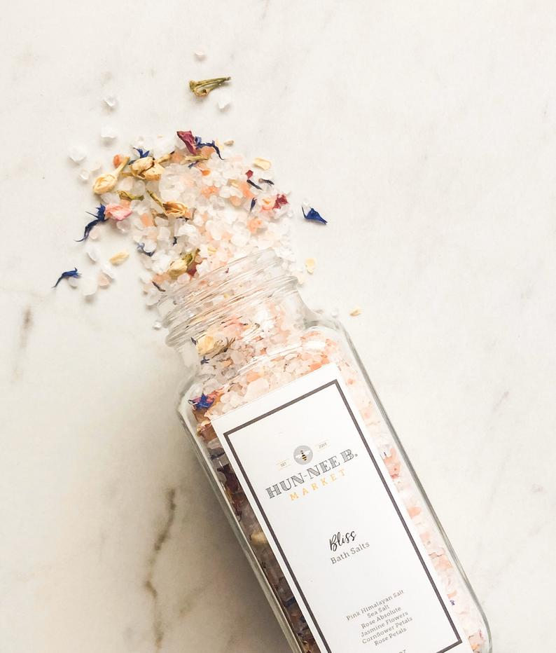 Hun-nee B. Market Bliss Rose Bath Salts