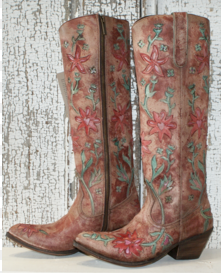 SIXTIES COWGIRL TALL BOOT
