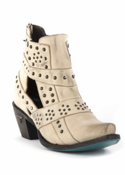 STUDS AND STRAPS BOOT