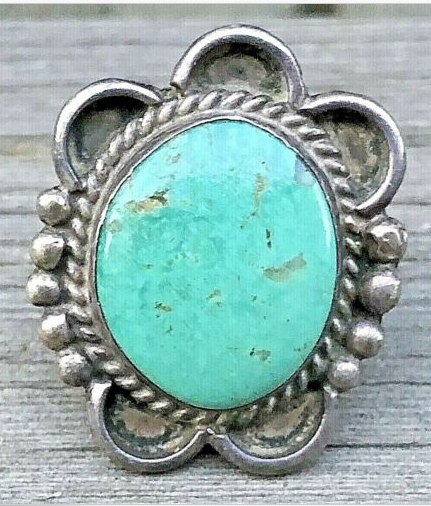 VINTAGE TURQUOISE RING SIZE 5