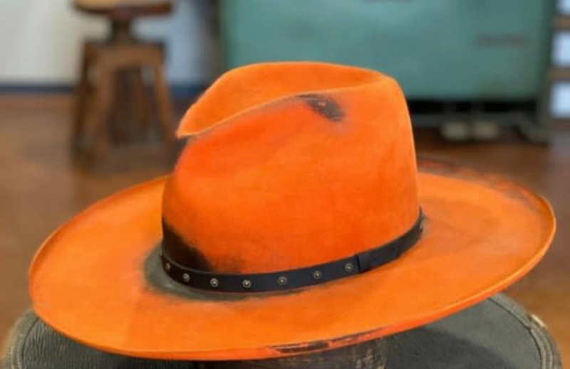 ORANGE CRUSH HAT