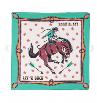 CIRCUS RODEO SCARF