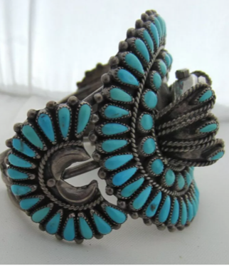 Turquoise Cuff Watch
