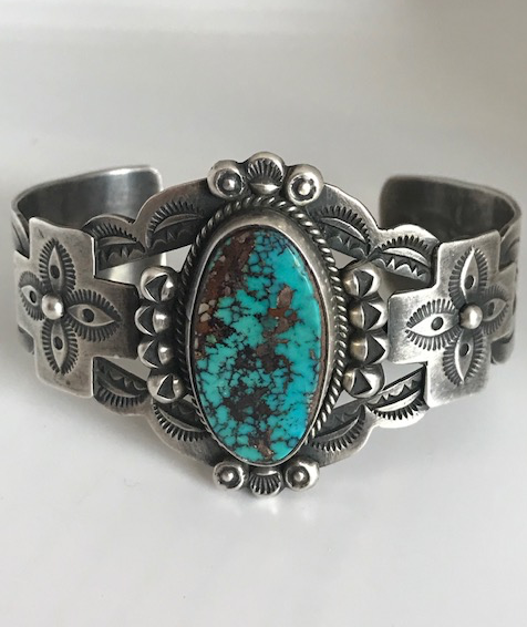 DEAN SANDOVAL TURQUOISE CUFF