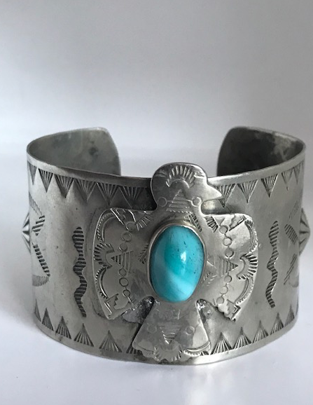 FRED HARVEY ERA THUNDERBIRD BRACELET