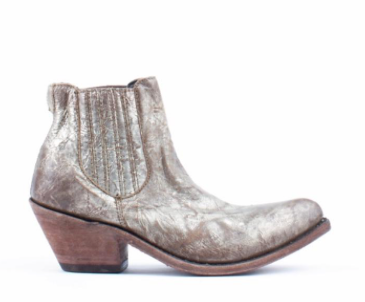 BUFFED METAL BOOTIES