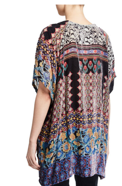 BURNOUT AZTEC TUNIC