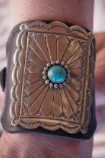 ENGRAVED CONCHO CUFF
