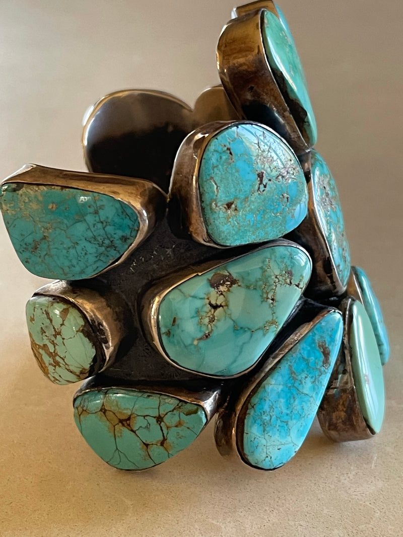 Large Turquoise Cuff