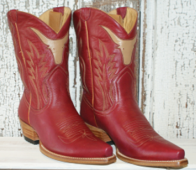 LIBERTY BLACK TORITO RED BOOTS