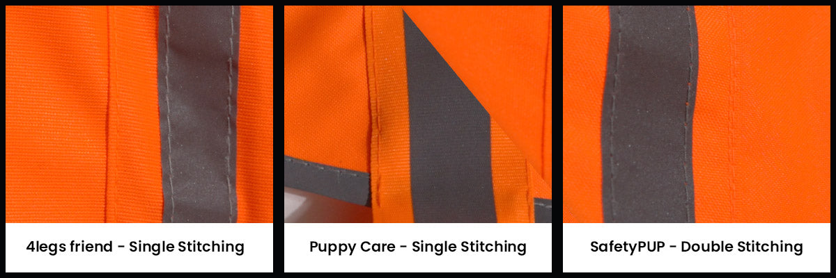 reflective dog vest quality of construction