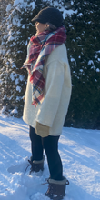 Load image into Gallery viewer, Sweater dress made with natural Vermont wool.
