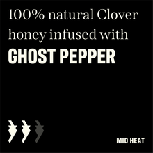 Load image into Gallery viewer, 12 OZ Kickin' Honey Ghost Pepper ~NEW PRODUCT~
