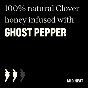 12 OZ Kickin' Honey Ghost Pepper ~NEW PRODUCT~