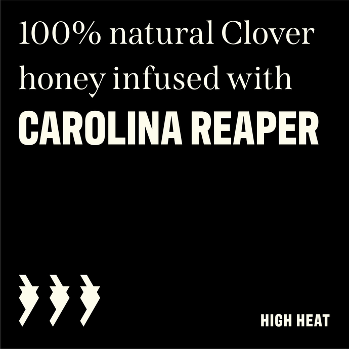 Carolina Reaper Kickin' Honey (WARNING: REALLY HOT)
