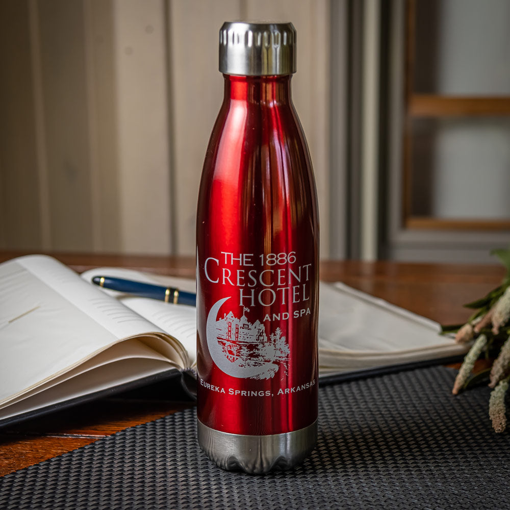 Etched Metal Water Bottle