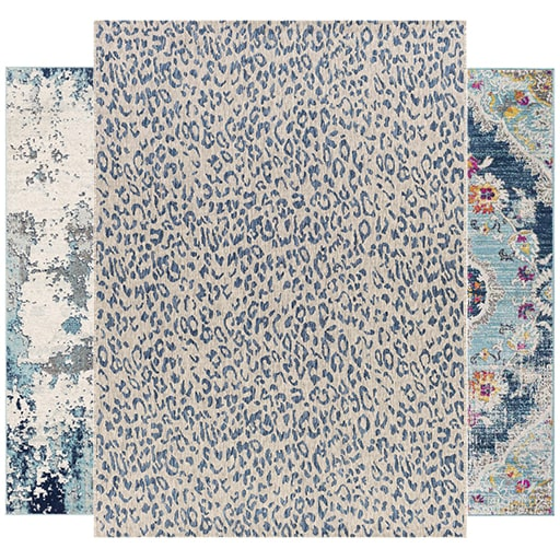See Our Blue Rugs