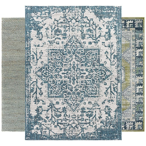 See Our Green Rugs