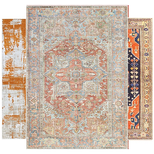 See Our Orange Rugs