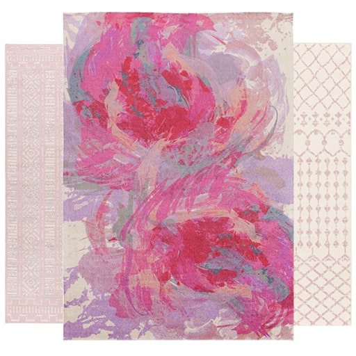 See Our Pink Rugs