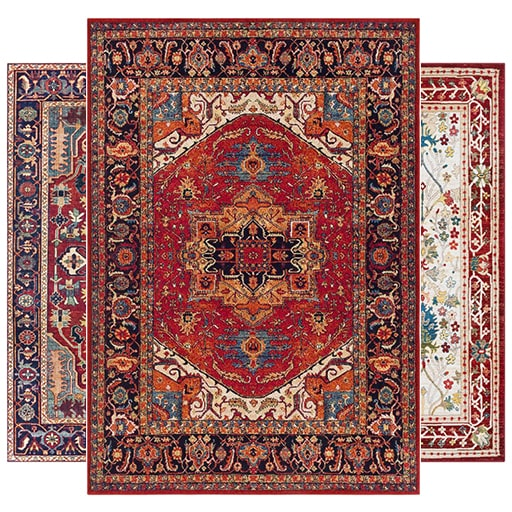 See Our Red Rugs