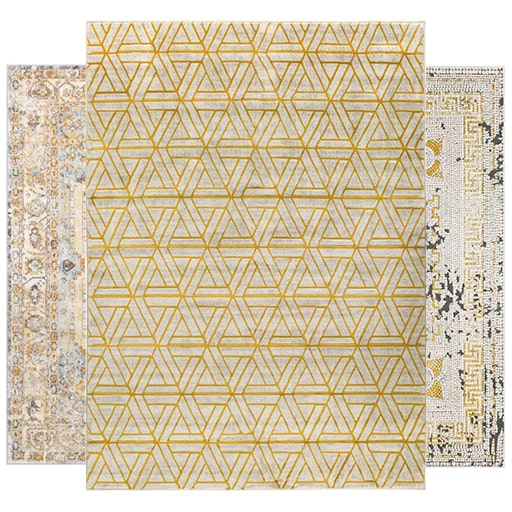 See Our Yellow Rugs