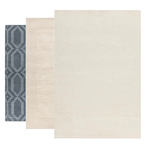 See Our Solid & Border Rug Collection