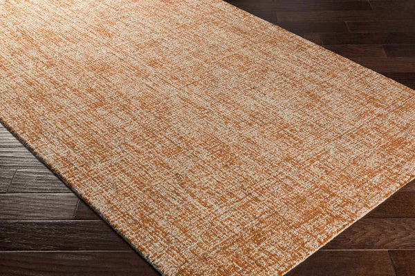 Ancona Modern Burnt Orange Area Rug