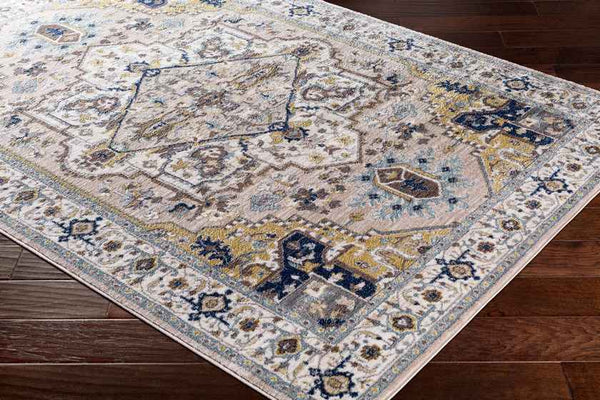 Roslin Updated Traditional Camel Area Rug