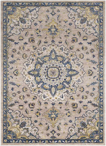Ruby Updated Traditional Navy Area Rug