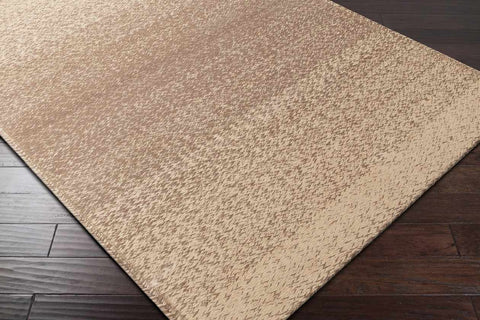 Hertford Natural Fiber Dark Brown Area Rug