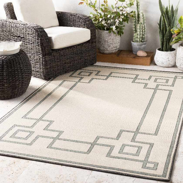 Natalie Indoor / Outdoor Area Rug, Cream