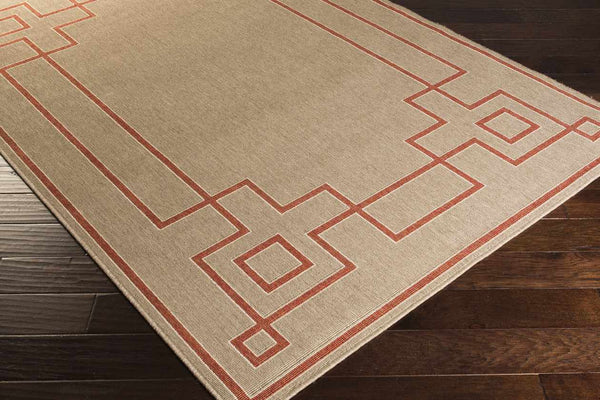 Natalie Indoor / Outdoor Rust Area Rug