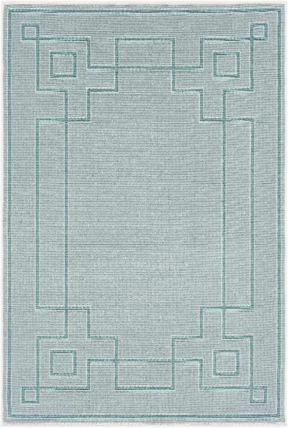 Natalie Indoor / Outdoor Area Rug, Aqua