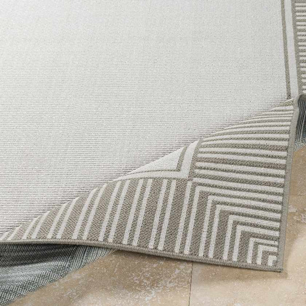 Balgonie Indoor / Outdoor Taupe Area Rug