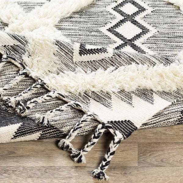 Didina Bohemian/Global Black Area Rug