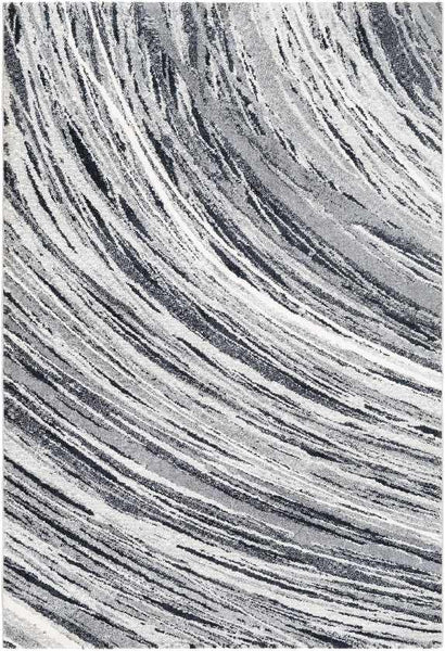Goutum Modern Medium Gray Area Rug