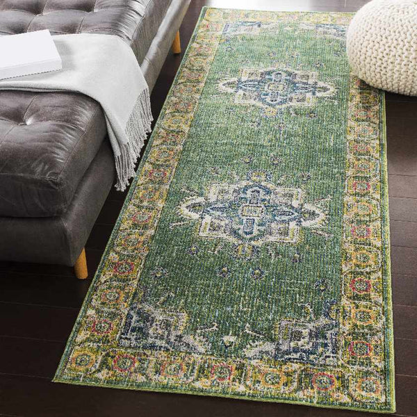 Gonesse Traditional Lime Area Rug