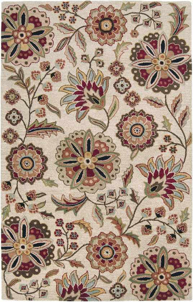 Granum Transitional Dark Brown Area Rug