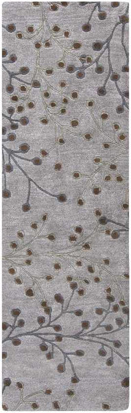 Le Havre Transitional Medium Gray Area Rug