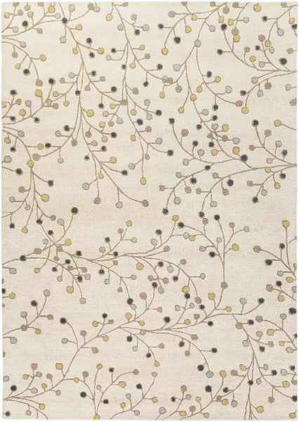 Le Havre Transitional Khaki Area Rug