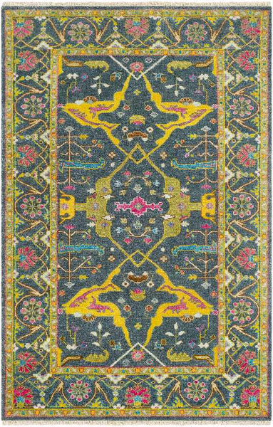 Brescia Traditional Navy Area Rug