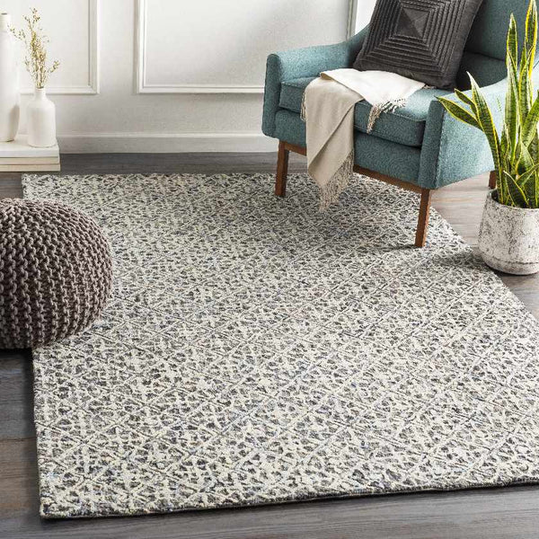 Elle Modern Medium Gray Area Rug