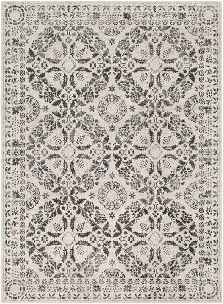 Simon Transitional Beige Area Rug