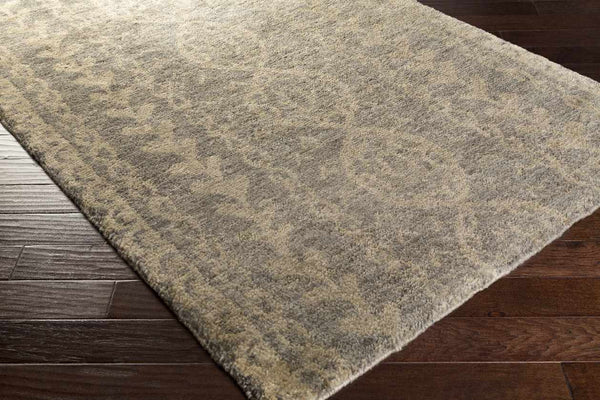 Larrimore Global Medium Gray Area Rug