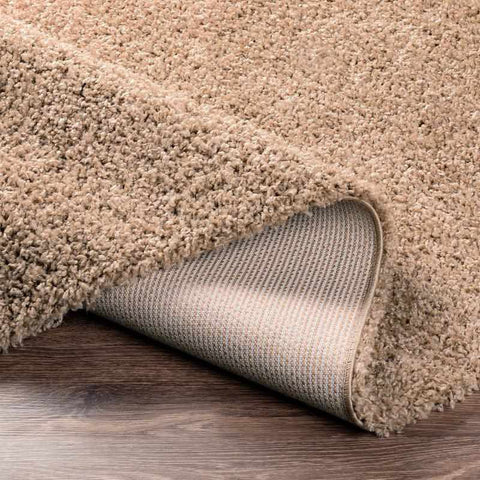 Tuindorp Shag Light Brown Area Rug