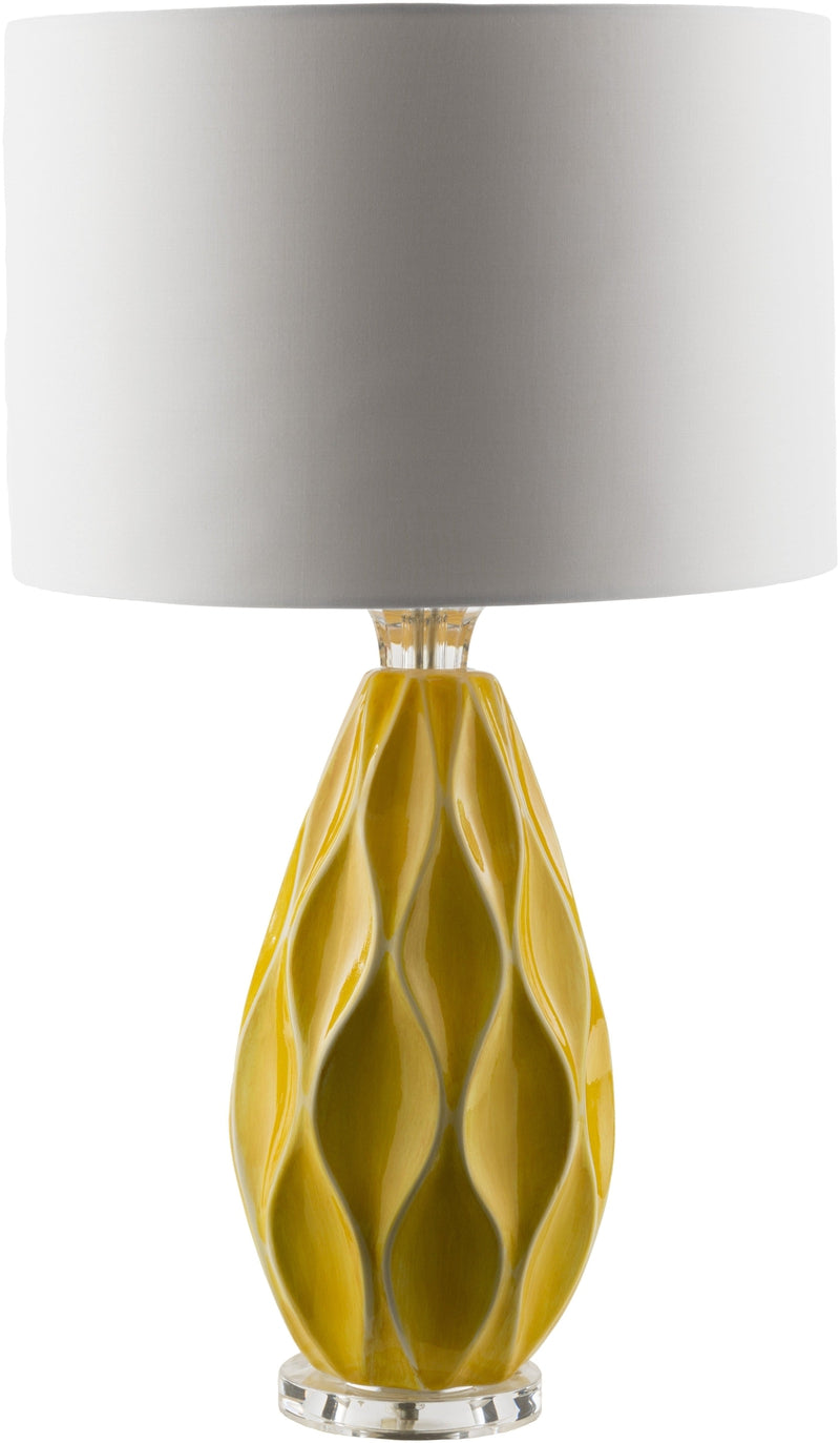 Lushnje Modern Saffron Table Lamp